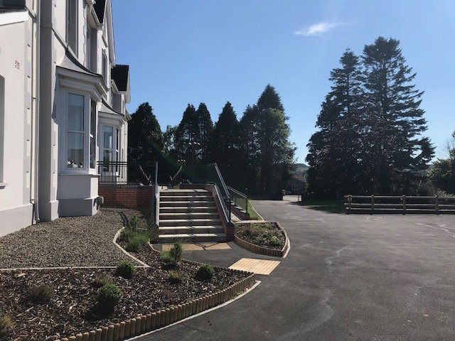 Cartref Croeso Main Entrance