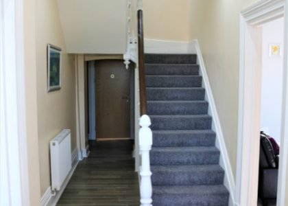 Cartref Croeso Hall and stairway