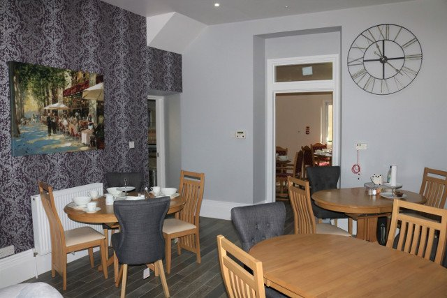 Dining Room at Cartref Croeso Residential Care Home, Pencader, Carmarthenshire