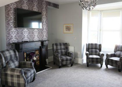 Cartref Croeso lounge