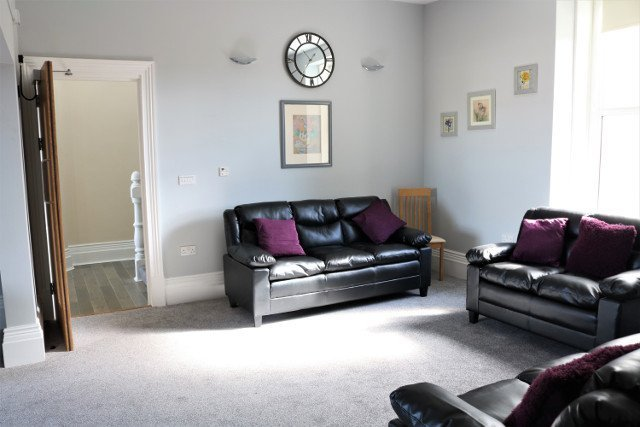 Reading Room at Cartref Croeso Residential Care Home, Pencader, Carmarthenshire