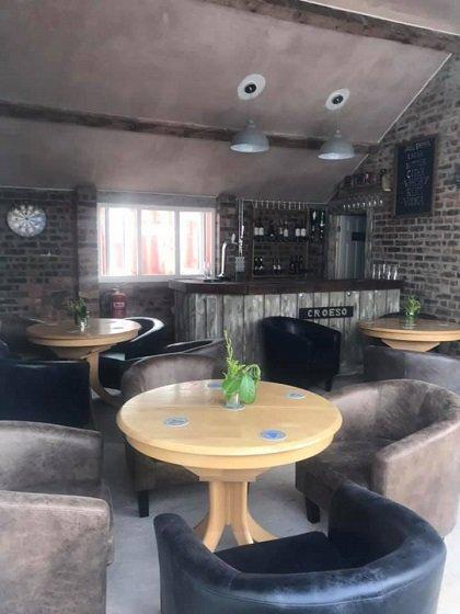 Pub at Cartref Croeso Care Home, Pencader, Carmarthenshire
